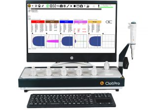 ClotPro 6.0 analyzer with all-in-one Touchscreen PC